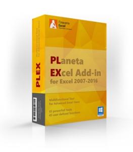 Надстройка PLEX для Microsoft Excel 2019.1 [Ru/En]