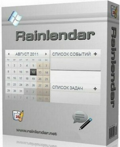 Rainlendar Lite 2.15.4 Build 166 [Multi/Ru]