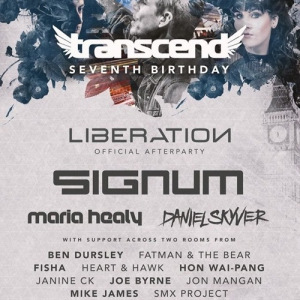 VA - Live @ Transcend 7th Birthday, Club Reina London, United Kingdom 2020-02-01