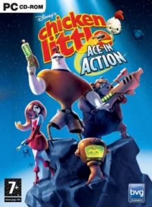 Цыплёнок Цыпа: Герои Галактики / Disney's Chicken Little: Ace in Action