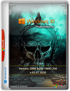Windows 10 Pro 2004 x64 Rus by OneSmiLe [19041.330]