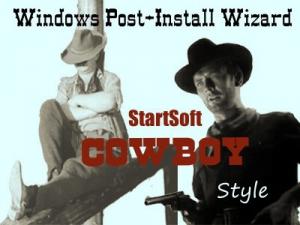 Windows Post-Install Wizard by StartSoft Cowboy Style Full 06-2020 [Ru/En]