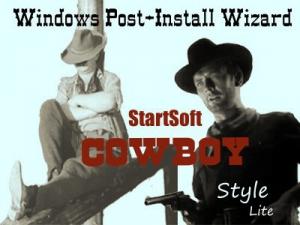 Windows Post-Install Wizard by StartSoft Cowboy Style Lite 07-2020 [Ru]