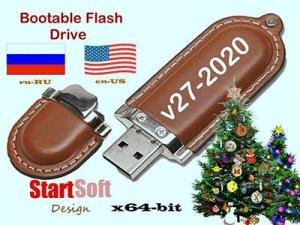 Simple Bootable Flash Drive by StartSoft Presentation 27-2020 [Ru/En]