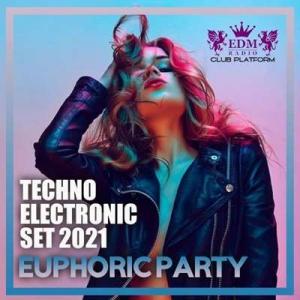 VA - Euphoric Party: Techno Electronic Set