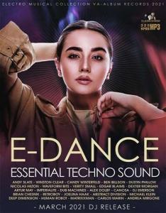 VA - E-Dance: Essential Techno Sound