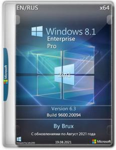 Windows 8.1 6.3 (9600.20094) Enterprise + Pro (2in1) x64 by Brux [Ru/En]