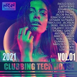 VA - NRW: Clubbing Tech House (Vol.01)