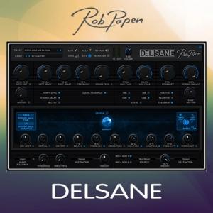 Rob Papen - DelSane 1.0.1a VST, VST3, AAX (x64) [En]